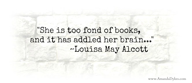 too fond of books