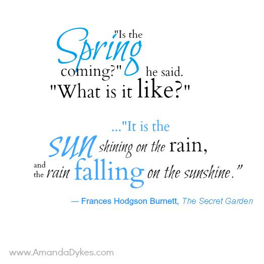 Spring Printable Secret Garden