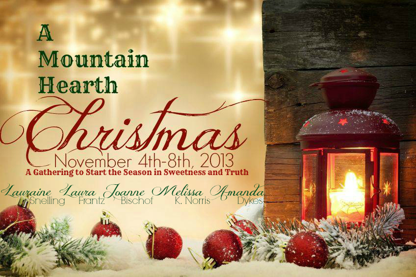 Mountain Hearth Christmas names in darker green