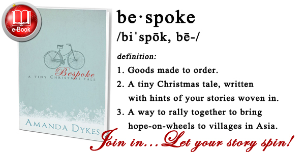 Bespoke: Join in... Let your story spin!